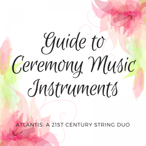 ceremony music instruments